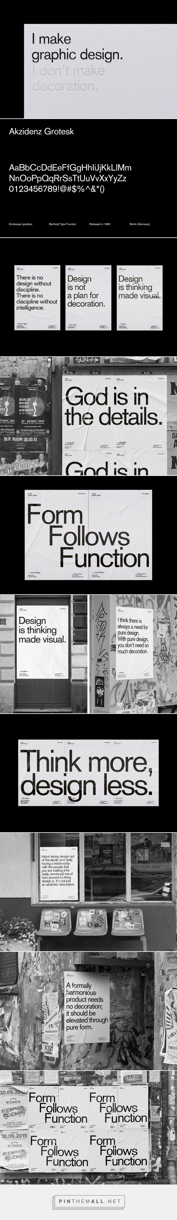 I make graphic design. I don't make decoration. on Behance