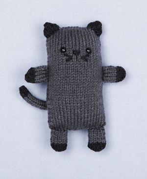 Loom Knit Cat
