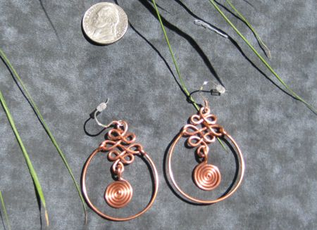 Gypsy Butterfly Jewellery - Handmade copper necklaces and earrings