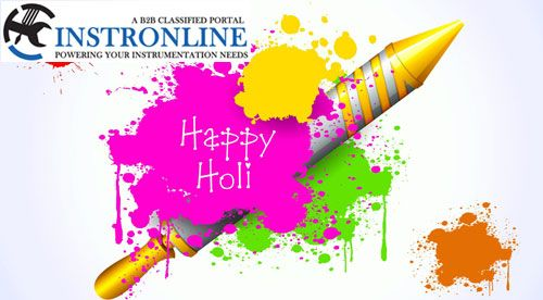 Instronline wishes you all Very Happy Holi colored with joy, sprinkled with laughter & filled with joy.