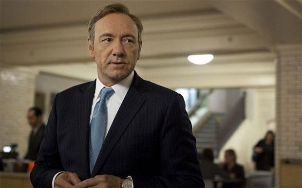 Kevin Spacey interview for House of Cards