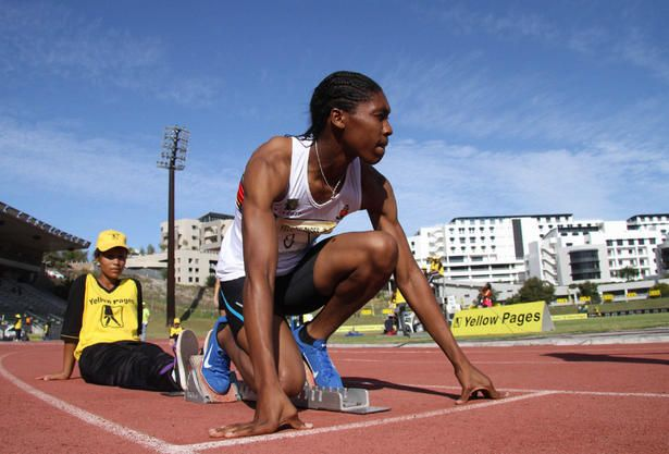 With speed and brawn, Caster Semenya has become the unwilling poster girl for Olympic controversy - gender investigation. An unknown number of female athletes have been ordered to undergo hormone therapy to reduce testosterone levels (Gallo Images/GETTY IMAGES).