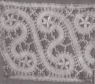 Slovak bobbin lace pattern