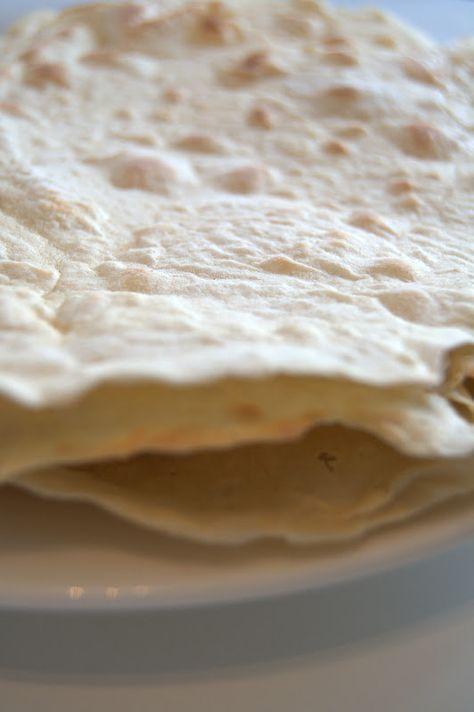 Hjemmelaget tortillalefser