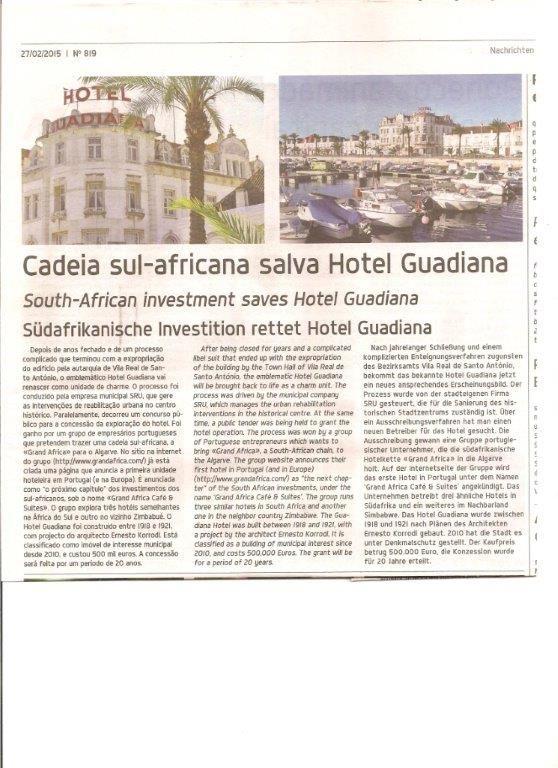 O salvada de Hotel Guadiana,VRSA
