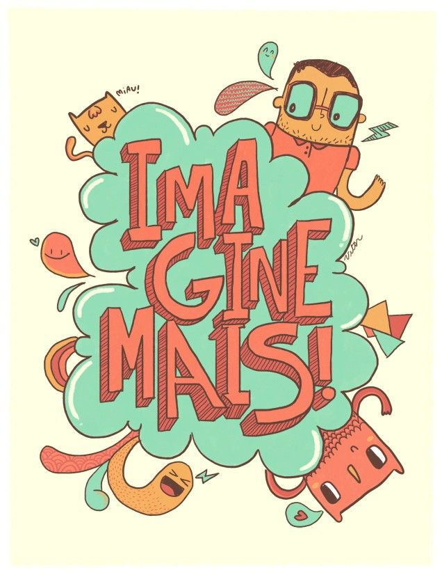 Imagine mais! #imagine #imaginacao
