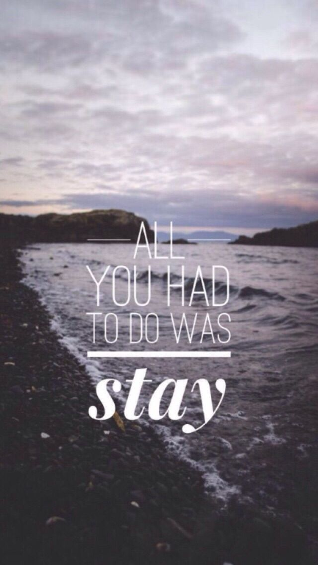 taylor swift ; all you had to do was stay