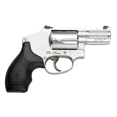 Smith & Wesson does it again with the Pro Series Model 632 Chambered in .327 Federal Magnum. It's a sweetheart when it comes to managed recoil - in fact, get more firepower and energy for less recoil than an Airweight .38 - Awesome deal.