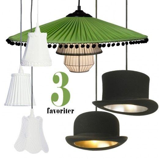 Snygga lampor kan man aldrig få för många av och om jag bara kunde motivera det både ekonomiskt och utrymmesmässigt