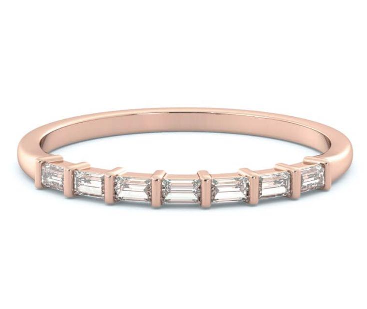"""14K Rose Gold """"Blush"""" Diamond Ring"""