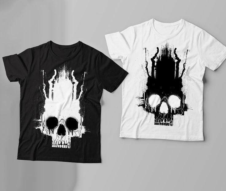 Skull Cross Design