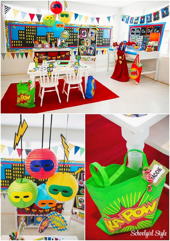 Superhero Classroom Decoration Ideas ~ Best images about super hero theme on pinterest