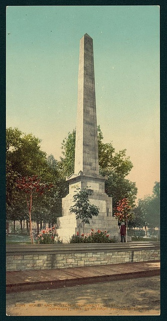Wolfe and Montcalm monument, Quebec (LOC)