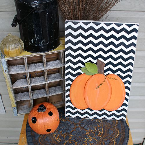 diy scroll saw pumpkin
