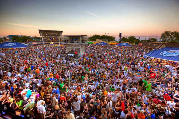1. Home to the world's largest music festival, you'll lose yourself in the Summerfest groove