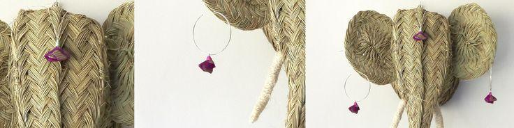 Recycled sari jewelry by estudio varali
