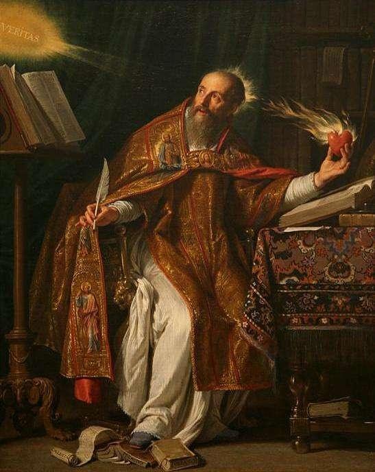 Santo Agostinho, na visão de Philippe de Champagne
