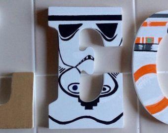 Star Wars Inspired letter art. Hand by SamanthaMaryMargaret