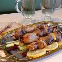 Шашлык из свинины с лимоном в аэрогриле