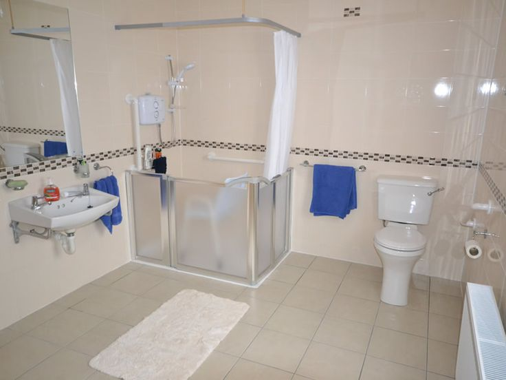 how to convert bathroom to disabled bathroom