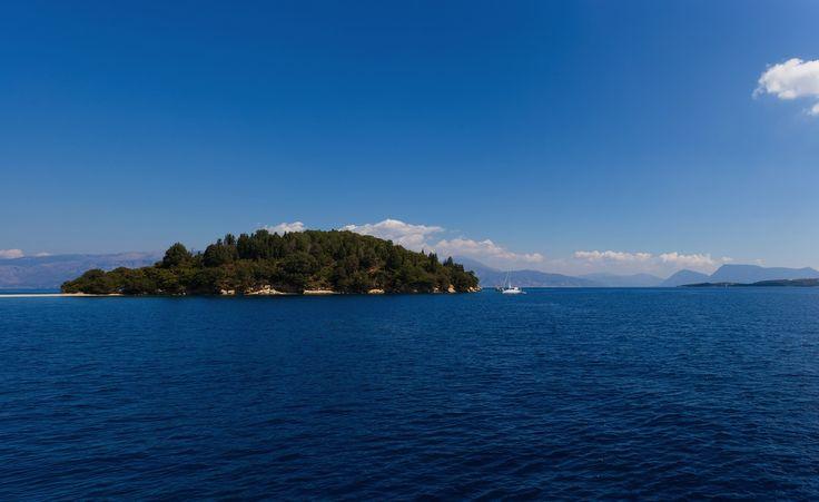 Scorpios island in Nidri, Lefkada