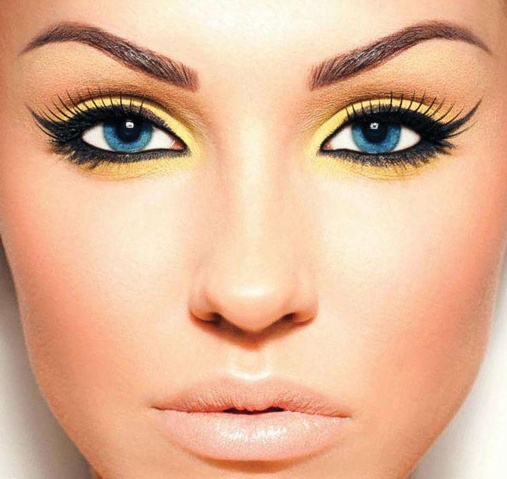 Pretty eyeshadow for blue eyes :)   Makeup   Pinterest ...