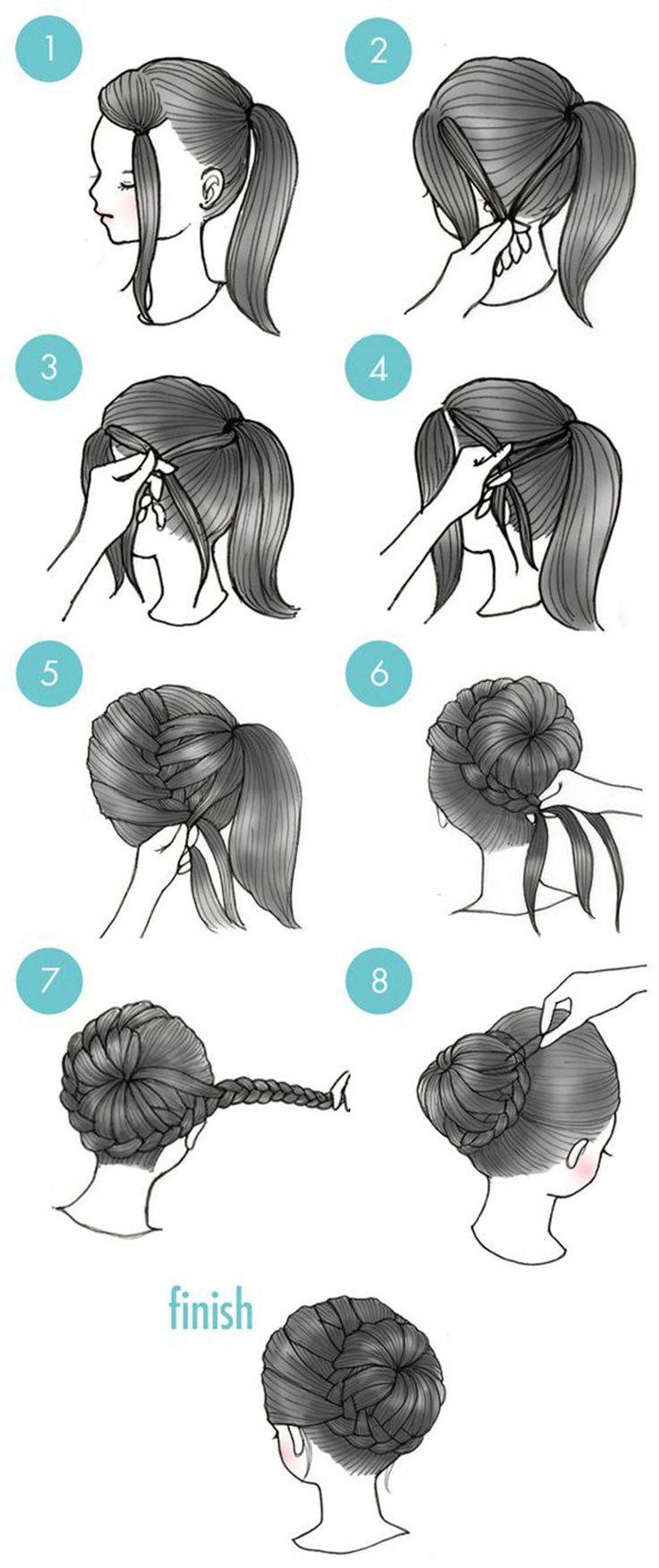 10 excellentes coiffures en moins de three minutes que chaque fille devrait essayer