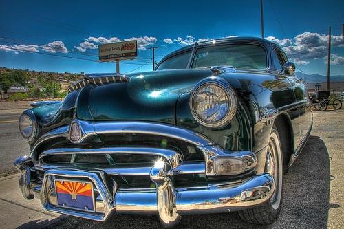Roadtrip USA- Vintage! somewhere in New Mexico.