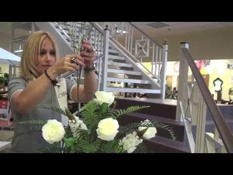 Ideas del Hogar: Como hacer un arreglo de flores (parte 2)