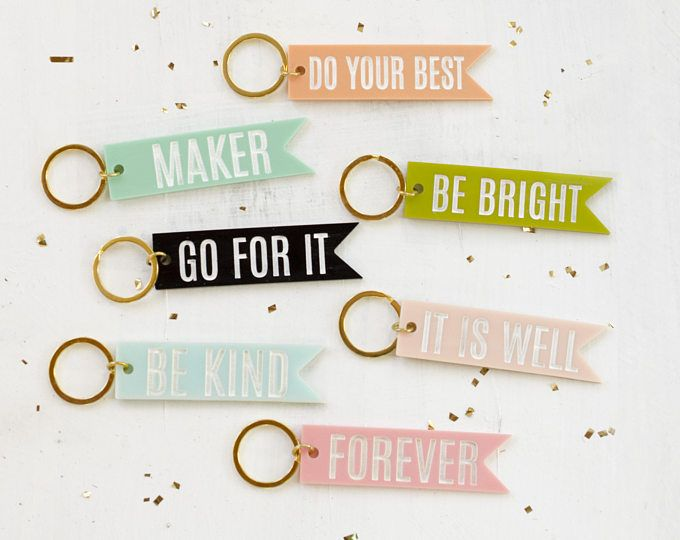 Discover New Inspiring Finds Every Day Etsy Colorful Keychain Personalized Keychain Keychain