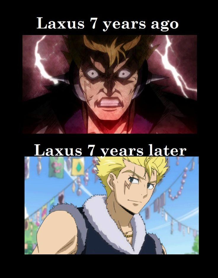 Laxus is Laxus