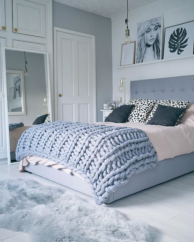 Bedroom post will be going live on the blog soon  #blogginggals #whiteinterior #mynordicroom