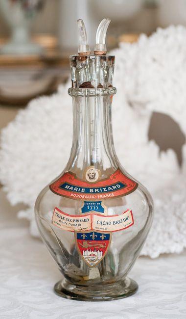 Antique Marie Brizard, France Liquor Decanter