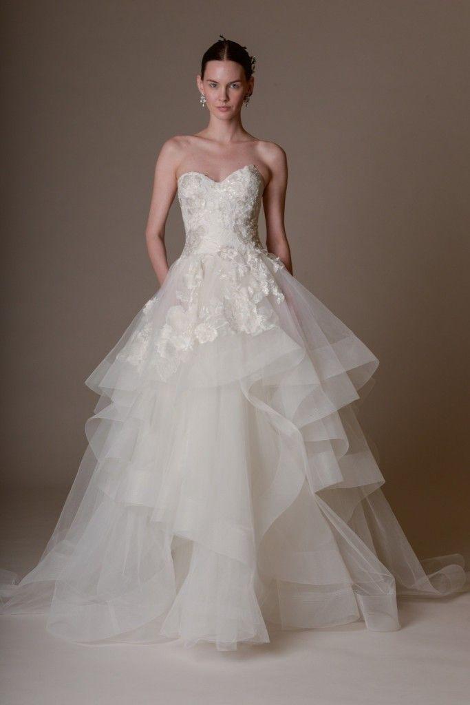 Wedding Bridal Dress 2016 // Marchesa collezione abiti da sposa 2016
