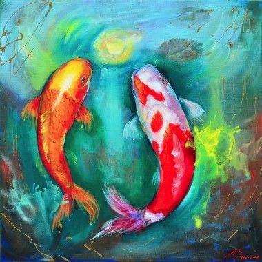 Koi schilderijen
