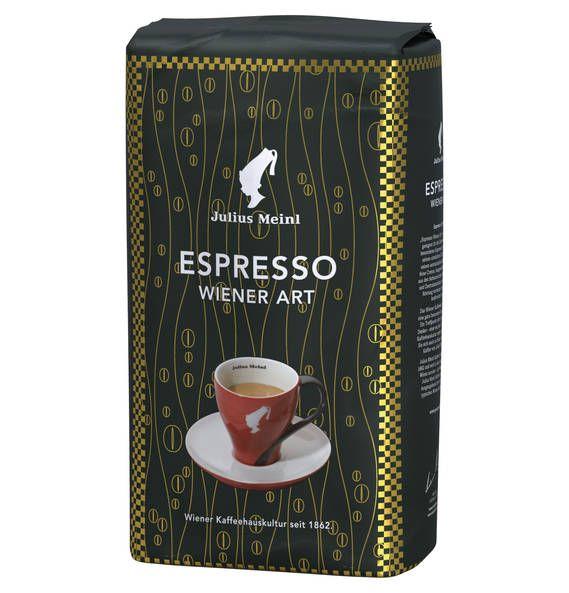 Cafe en grain - Galleria - Julius Meinl Espresso Wiener Art 1.000g ganze Bohne