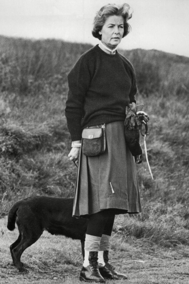 The Duchess of Devonshire (nee Deborah Mitford)