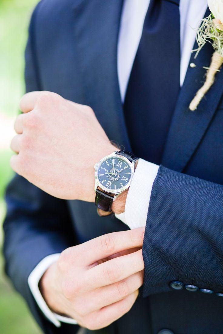 Wedding watch for groom