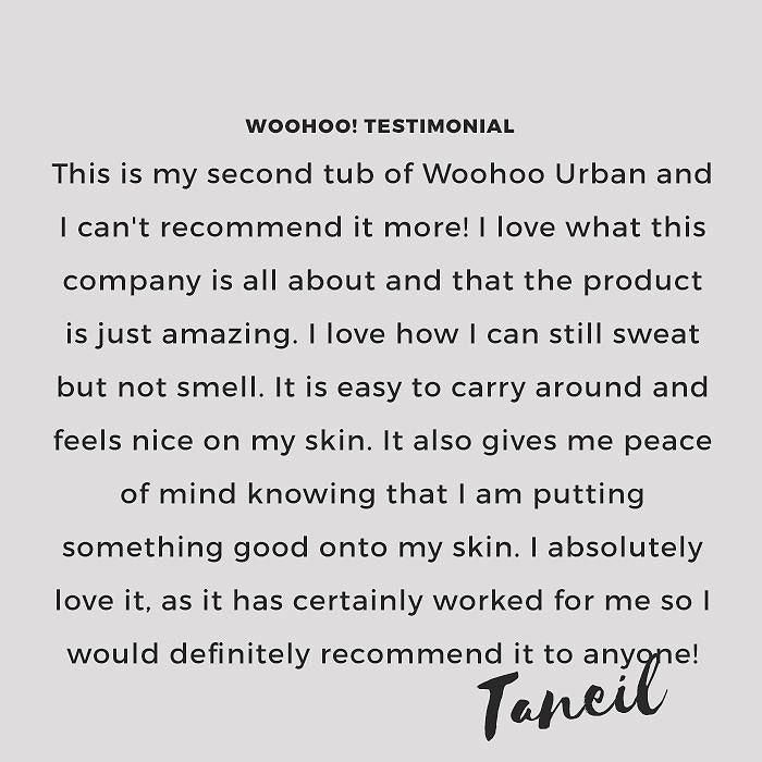 Love your positive vibes #woohoowarrior Taneil!