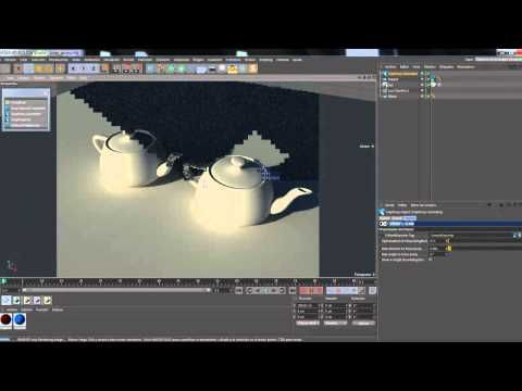 Vrayproxy en Cinema 4d - YouTube