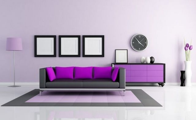 32 best images about living gris morado turquesa for Decoracion de interiores colores