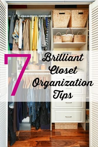 7 Brilliant Closet Organization Tips by Woodard Cleaning & Restoration in St. Louis, Mo.