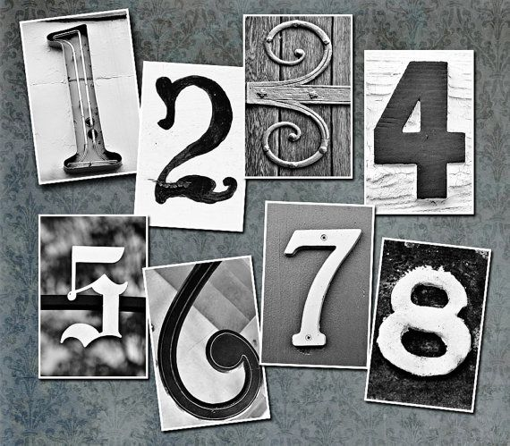 Remarkable 17 Best Ideas About Vintage Numbers On Pinterest Morse Code Largest Home Design Picture Inspirations Pitcheantrous
