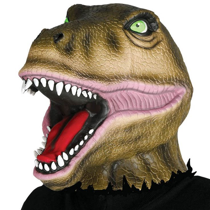 Máscara Dinosaurio #máscaras #antifaces