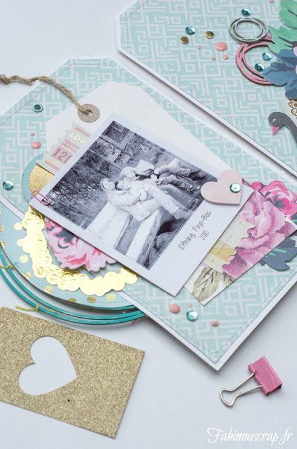 Pour tes beaux yeux...: You & Me, mini-album pour EmbelliScrap