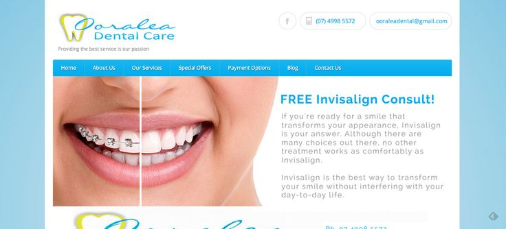 Ooralea Dental Care is a family owned dental clinic serving our community in Ooralea, Mackay in Queensland, Australia. With our most experienced, knowledgeable and friendly dentists and staff combined with state of the art technology, we assure you that you will get best care.  We loved giving this client's website a makeover to ensure it was modern, responsive and would be more SEO friendly than their previous site. Check it out at http://ooraleadentalcare.com.au/