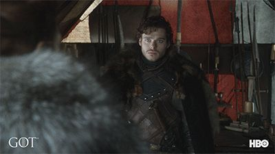 game of thrones hbo hug got stark prepare winter is coming robb stark richard madden prepare for winter robb