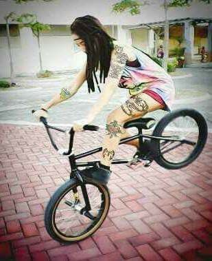 Bmx girl