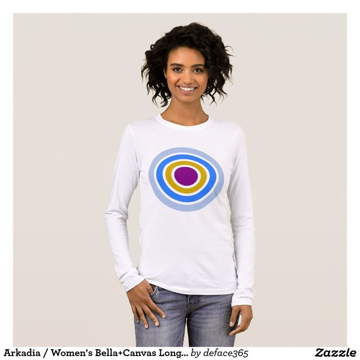 Arkadia / Women's Bella+Canvas Long Sleeve T-Shirt
