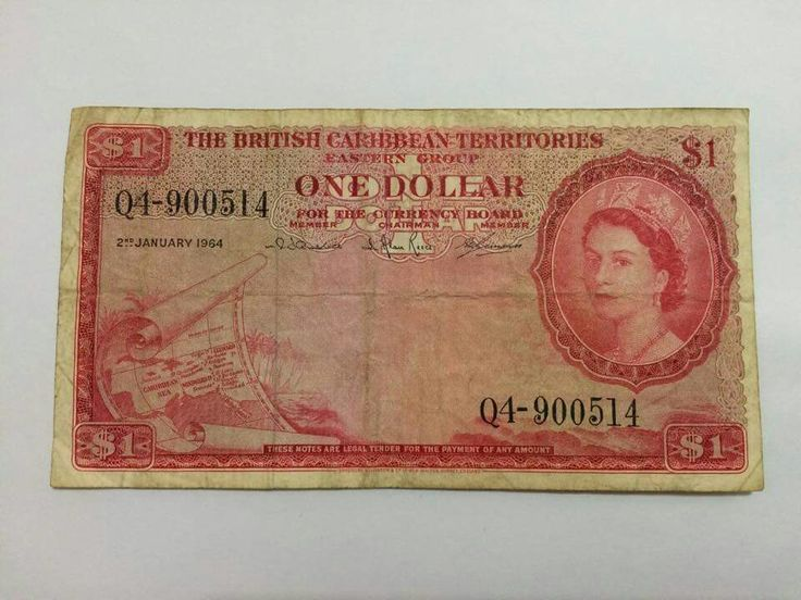 Colonial currency in the British Caribbean c. 1939